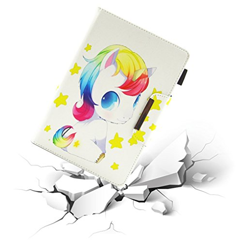 Card Leather Slot Pattern Case of for Butterfly Ultra Colorful LMFULM® Case Color 10 10 Inch 1 Case Thin PU Purpose General Magnetic Bookstyle Pad Inch Tablet Closure Stand Foldable for 1RqTw8T