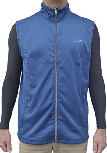 (Calvin Klein Performance Men's Vest, Poseidon,)