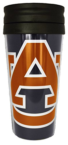 NCAA Auburn Tigers 14 oz Travel Mug (Auburn Tigers Beverage)