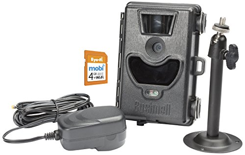 Bushnell 6 Megapixel No Glow Black LED Wi-Fi Surveillance Camera with Night Vision