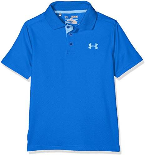 Under Armour Kids Boy's Performance Polo (Big Kids) Ultra Blue/Carolina Blue Shirt ()