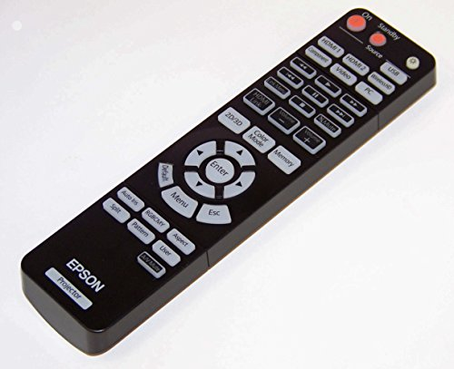 OEM Epson Projector Remote Control Shipped With Epson PowerLite Home Cinema 3010+