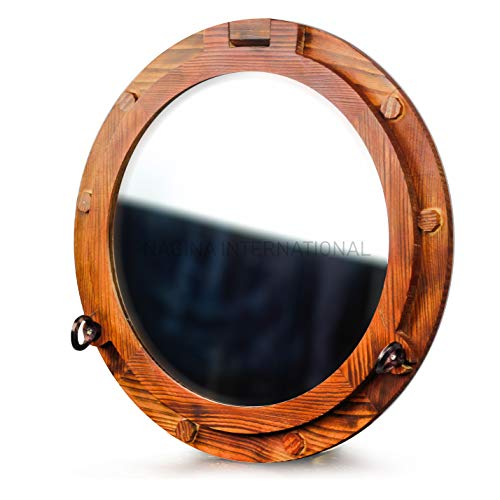 Wooden Nautical Porthole -