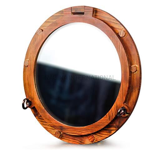 Wooden Nautical Porthole -