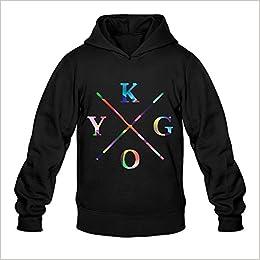 Mens DJ Kygo Remix Logo Sweater Size L Black Apparel