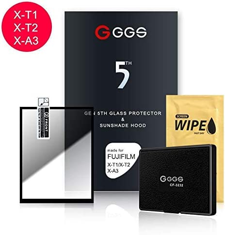 GGS LARMOR Self-Adhesive Optical Glass LCD Screen Protector For Fujifilm