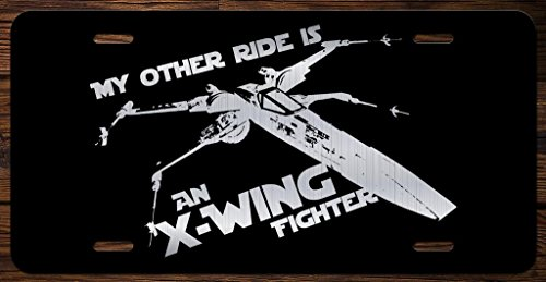My Other Ride Is An X-Wing Fighter Star Wars Vanity