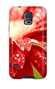 3727498K52443845 Faddish Phone Flower Case For Galaxy S5 / Perfect Case Cover