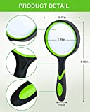 Wapodeai Magnifying Glasses, Magnifying Glass 4X