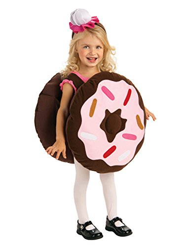Rubie's Trick Or Treat Sweeties Dunk Your Doughnut Costume, Pink, Toddler ()