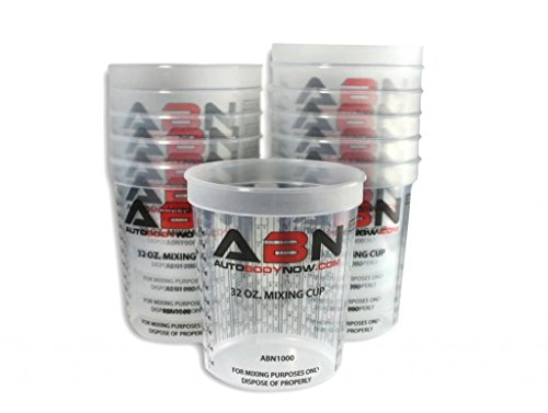 abn-clear-plastic-mixing-cup-12-pack-32oz-ounce-946ml-milliliter-container-for-paint-activators-and-