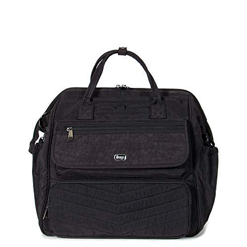 Lug Women's Via Travel Duffel Bag, Shimmer Black, One -