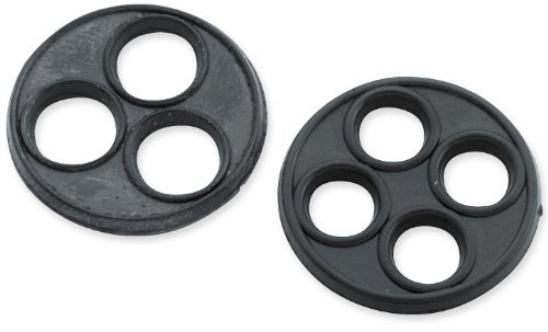 Bikers Choice Late Style Petcocks - Replacement Vavle Gasket 4-Hole 011415