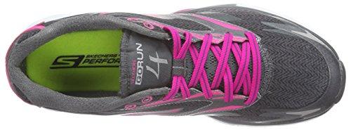 Skechers GO Run 4 - Zapatillas de running Mujer Gris - Grau (CCHP)