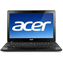 "Acer Aspire One AO725-0899 11.6"" Netbook (AMD Dual Core Processor, 2GB RAM, 320GB Hard Drive, Windows 7 HP 64 bits) Volcano Black"