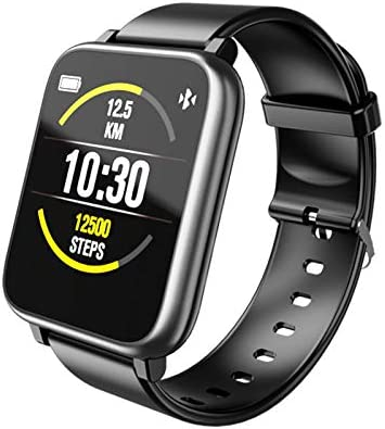 Smart Watch,Fitness Smartwatch for Android Phones and iOS Phones,Activity Tracker with 1.4 Inch Touch Screen, IP67 Waterproof Smart Watches for Men Women Black