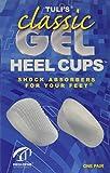 Tuli's Classic Gel Heel Cups, Regular (Under 175lbs)