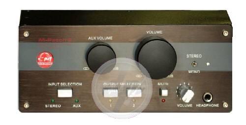 Patch Passive Volume Control - SM Pro Audio M-Patch 2 Passive Volume Control/Switch Box