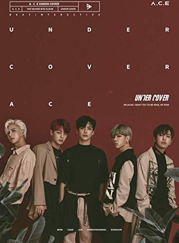 K-POP A.C.E ACE - 2nd Mini Album [Under Cover] CD + Photobook + Photocard + Sticker + Folded Poster KPOP Sealed