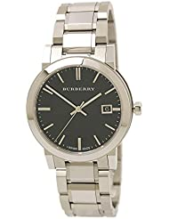 Burberry Mens BU9001 Large Check Stainless Steel Bracelet Watch