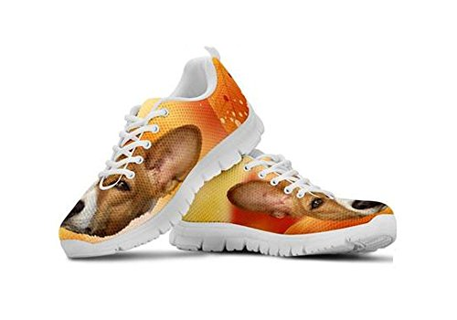 Print Cute Dog Basenji Casual Sneakers Women's 7AHB0ZqW