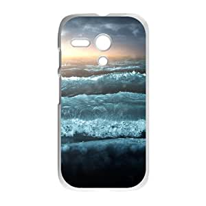 Good Quality Phone Case With HD Seascape Images On The Back , Perfectly Fit To Motorola Moto G