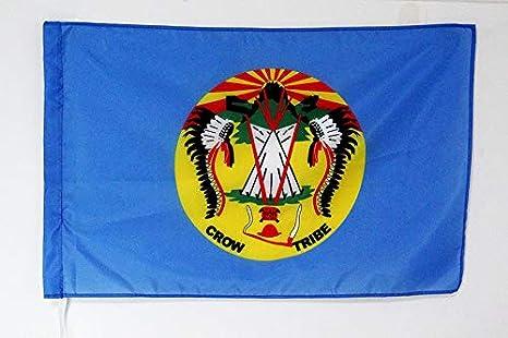 6af67e66a Amazon.com : AZ FLAG Crow Nation Flag 3' x 5' for a Pole - Crow ...