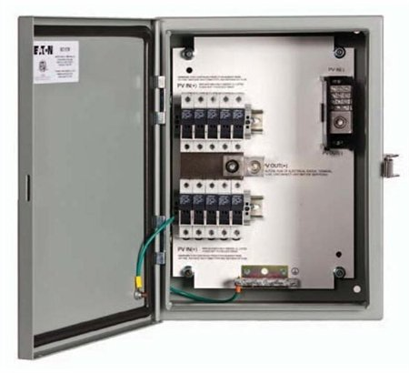 Eaton SC8R Fused, Source Combiner Box, 8 Circuit