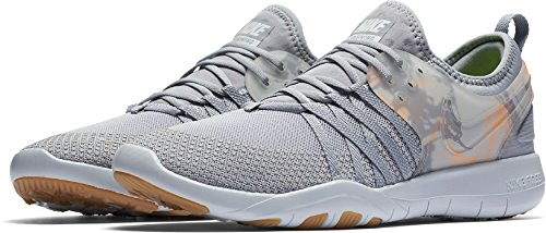 Nike Vrouwen Vrije Tr 7 Prt Sportschoenen (grijs / Oranje, 11)