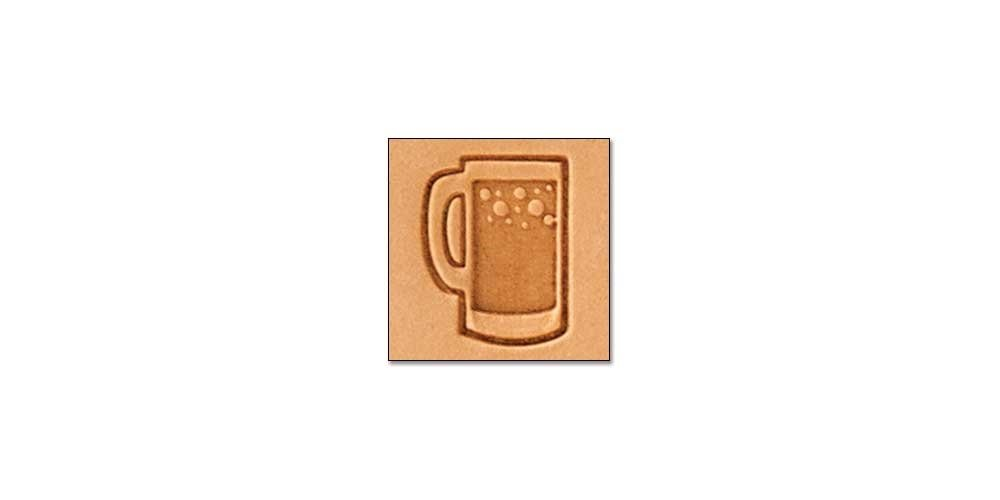 Tandy Leather Craftool Mini 2-D Stamp Beer