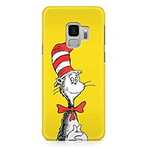 Loud Universe Classic Book Samsung S9 Case Dr Seusss Samsung S9 Cover with 3d Wrap around Edges