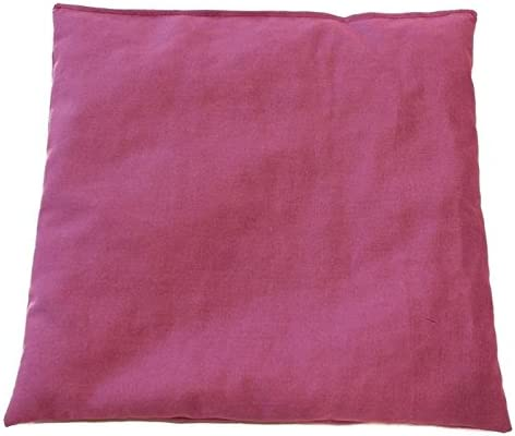 Cherry Stone Pillow 20x20cm Yellow ; Heat and Cold Therapy