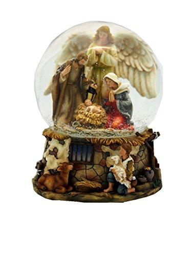 Musicbox Kingdom Musicbox Kingdom-56039 Crib Snow Globe