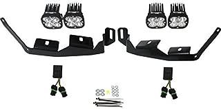 product image for Baja Designs Polaris RZR XP Turbo Headlight Squadron LED Light PRO Kit