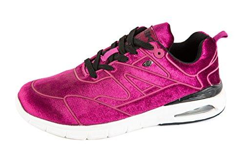 Damen Pink Knights Gr Demon 37 Low Pink Sneaker British p5zxqnBCn