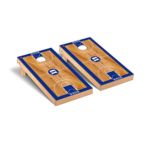 - Duke Blue Devils Regulation Cornhole Game Set Basketball Version