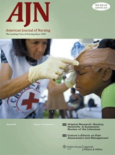 American Journal of Nursing PDF