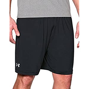 Under Armour Team Raid Shorts, Black/White, Large