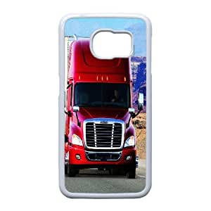 DIY Trucks Theme Phone Case Fit To Samsung Galaxy S6 Edge , A Good Gift To Your Family And Friends