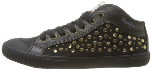 Nero 999 Black Industry noir Pepe Jeans Donna Sneaker wxTq7xzYI