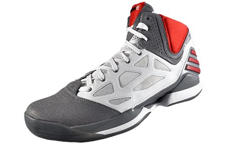 outlet store 523c9 b4587 Adidas Adizero Rose, 2,5, (WhiteGrey  Red), Amazon.it Scarpe