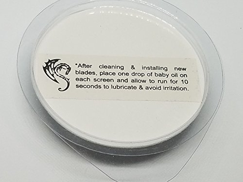 SH50/52 Replacement Heads Set of 3 Dual Precision Silver Dragon Universal Cooling Surface Blades for Philips Norelco Compatible Electric Shaver Series 5000 by Silver Dragon Shave (Image #6)