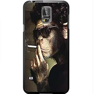 Cool Smoking Monkey Wearing Shades Hard Snap on Phone Case (Galaxy s5 V) by heywan