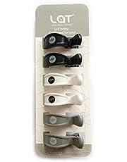 LAT Klammer-Clips zur Befestigung von Musselintüchern, Abdeckungen, Decken oder Spielzeug an Kinderwagen oder Autositz