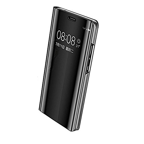 Pacyer Huawei Mate 10/Mate 10 Pro Hülle, Business Serie Hart Case Spiegelnd Cover Kratzfeste Hard Prämie PC Bumper Anti-Scratch Handyhülle Schutzhülle für Schwarz