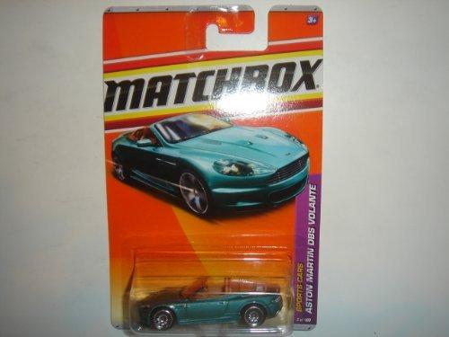 - 2011 Matchbox Aston Martin DBS Volante Green #5 of 100