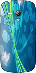 Snoogg Blue Nature Abstract Bokeh Background Designer Protective Back Case Co...