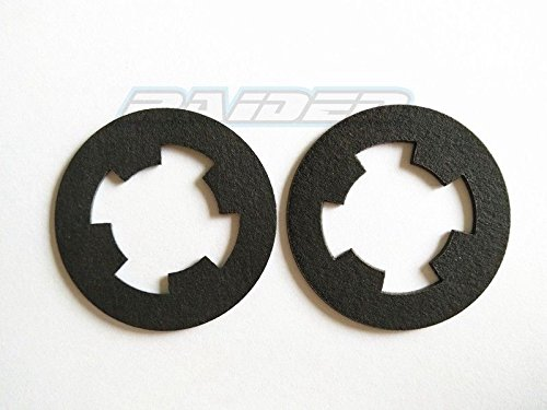 (Raidenracing SLIPPER CLUTCH PAD for HPI SAVAGE FLUX 4.6 5.9 HP XL RUSH MT2 replace 72131 2pcs)