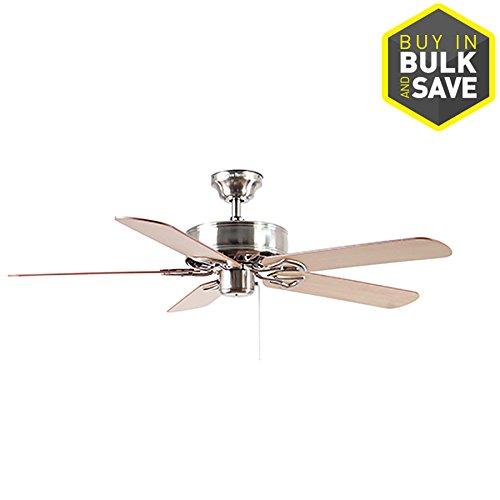 Harbor Breeze Classic 52-in Brushed Nickel Indoor Ceiling Fan Classic Nickel Ceiling Fan