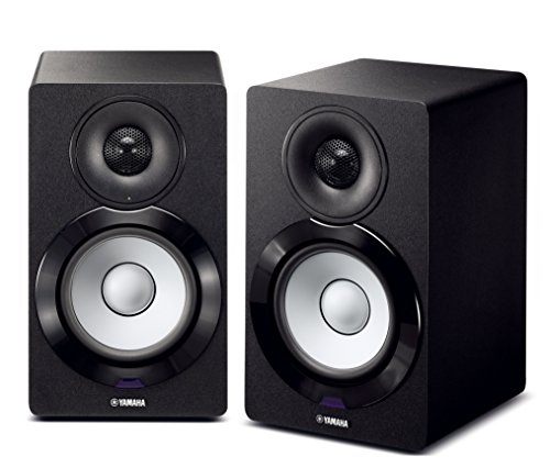 Yamaha NX-N500BL Bookshelf Monitor Speaker System (Black)